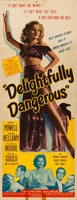 Delightfully Dangerous movie poster (1945) picture MOV_d682f7cb