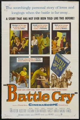 Battle Cry movie poster (1955) poster MOV_d6868a4a