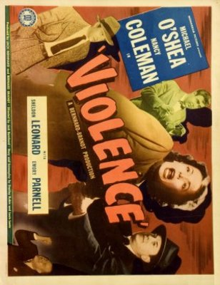 Violence movie poster (1947) poster MOV_d68fac1f