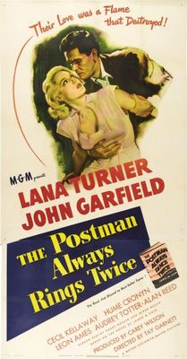 The Postman Always Rings Twice movie poster (1946) poster MOV_d6a84aaa