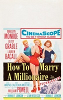 How to Marry a Millionaire movie poster (1953) picture MOV_d6af6a55