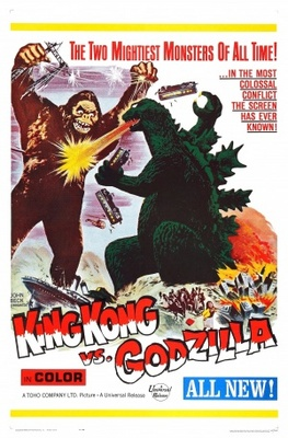 King Kong Vs Godzilla movie poster (1962) poster MOV_d6b1658d