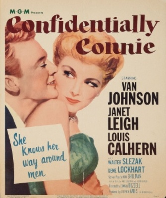 Confidentially Connie movie poster (1953) poster MOV_d6b9d8c9
