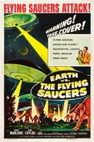 Earth vs. the Flying Saucers movie poster (1956) picture MOV_d6c74586