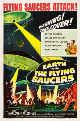 Earth vs. the Flying Saucers movie poster (1956) poster MOV_d6c74586