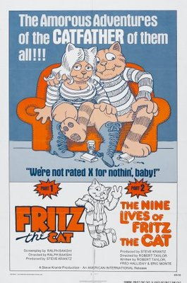 The Nine Lives of Fritz the Cat movie poster (1974) poster MOV_d6c90bc3