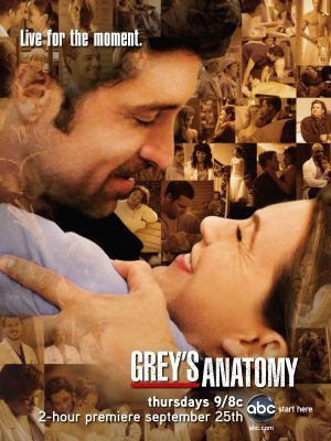 Grey's Anatomy movie poster (2005) poster MOV_d6f7b1f2