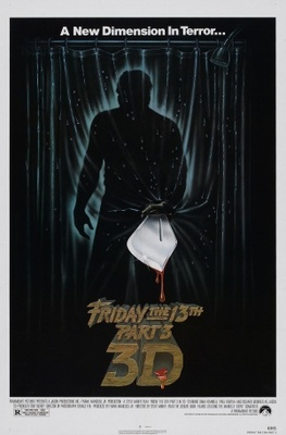 Friday the 13th Part III movie poster (1982) poster MOV_d6fac15d