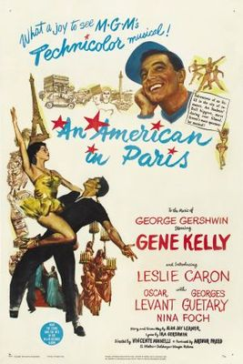 An American in Paris movie poster (1951) poster MOV_d72008a8