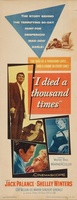 I Died a Thousand Times movie poster (1955) picture MOV_d7235410