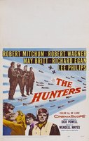 The Hunters movie poster (1958) picture MOV_d7347d52