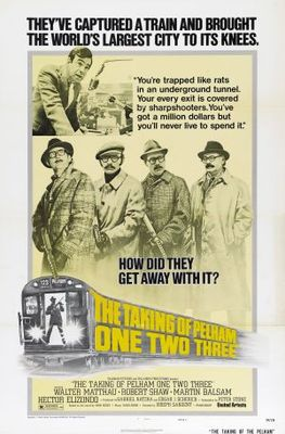 The Taking of Pelham One Two Three movie poster (1974) poster MOV_d73a8d4c