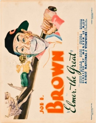 Elmer the Great movie poster (1933) poster MOV_d745ff6e