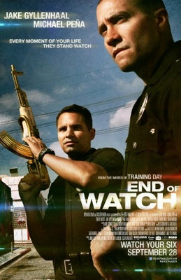 End of Watch movie poster (2012) poster MOV_d754d42c