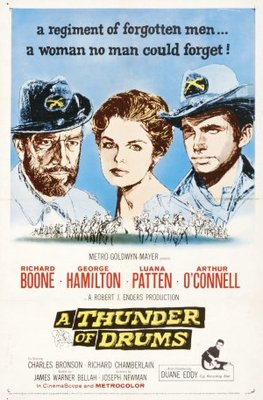 A Thunder of Drums movie poster (1961) poster MOV_d75a6c30