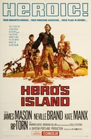 Hero's Island movie poster (1962) picture MOV_d760e51a
