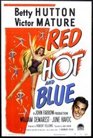 Red, Hot and Blue movie poster (1949) picture MOV_d76c1555