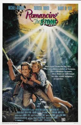 Romancing the Stone movie poster (1984) poster MOV_d773da30