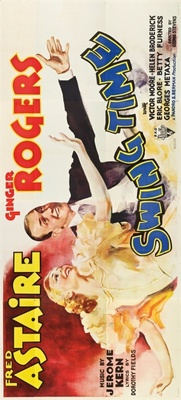Swing Time movie poster (1936) poster MOV_d78a2142