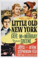 Little Old New York movie poster (1940) picture MOV_d7a3ca92