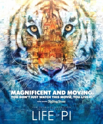 Life of Pi movie poster (2012) poster MOV_d7d204e8