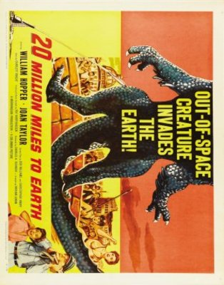 20 Million Miles to Earth movie poster (1957) poster MOV_d7eafa28
