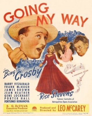 Going My Way movie poster (1944) poster MOV_d7eb226e