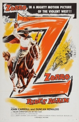Zorro Rides Again movie poster (1959) poster MOV_d7ec35e4