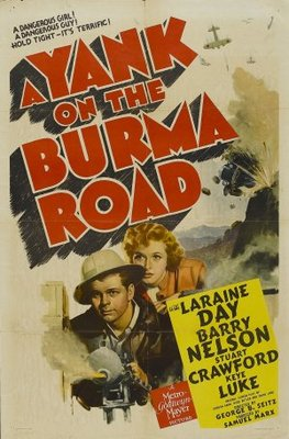 A Yank on the Burma Road movie poster (1942) poster MOV_d8119248