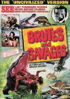Brutes and Savages movie poster (1978) poster MOV_d8199d71