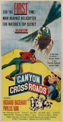 Canyon Crossroads movie poster (1955) poster MOV_d82753d2
