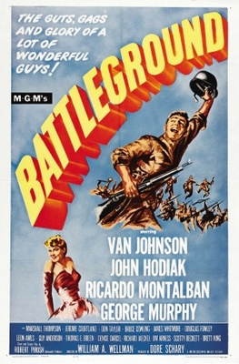 Battleground movie poster (1949) poster MOV_d84b4c5d