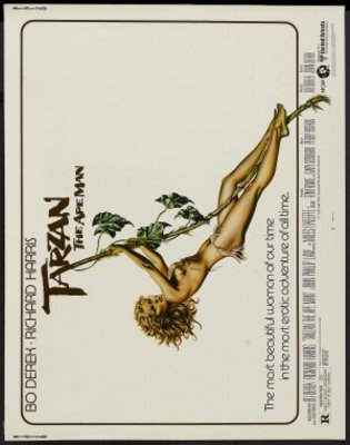 Tarzan, the Ape Man movie poster (1981) poster MOV_d84deb7e