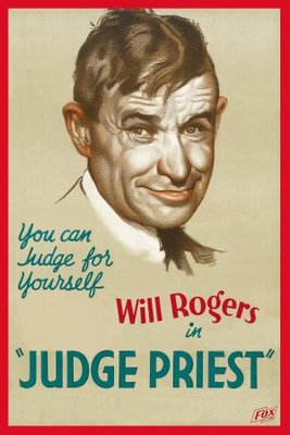 Judge Priest movie poster (1934) poster MOV_d84ef193