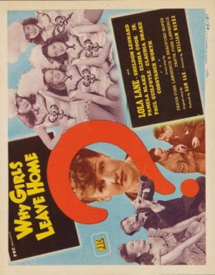 Why Girls Leave Home movie poster (1945) poster MOV_d8584017