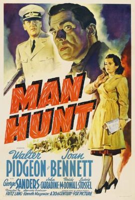 Man Hunt movie poster (1941) poster MOV_d85f7388
