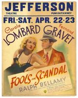 Fools for Scandal movie poster (1938) picture MOV_d8645541