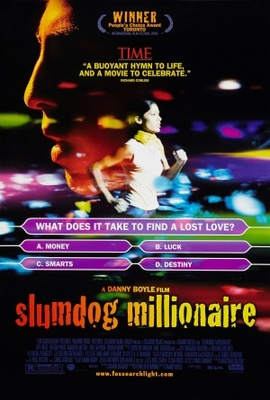 Slumdog Millionaire movie poster (2008) poster MOV_d878c5ef