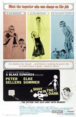 A Shot in the Dark movie poster (1964) poster MOV_d884f685