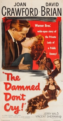 The Damned Don't Cry movie poster (1950) poster MOV_d8853d58
