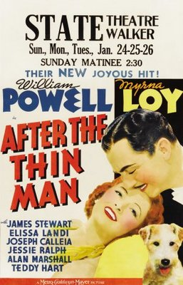 After the Thin Man movie poster (1936) poster MOV_d8bb6a34