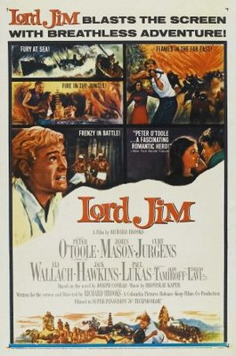 Lord Jim movie poster (1965) poster MOV_d8c5fd1a