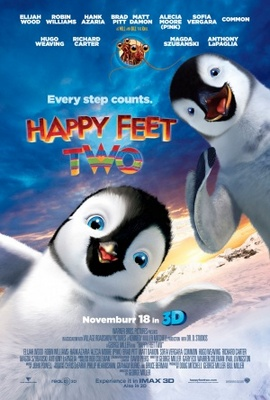 Happy Feet 2 in 3D movie poster (2011) poster MOV_d8eb6eeb