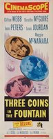 Three Coins in the Fountain movie poster (1954) picture MOV_8c7cdf07