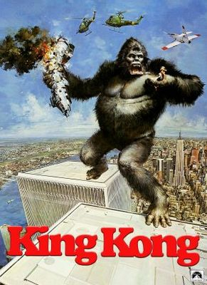 King Kong movie poster (1976) poster MOV_d8fbbad7