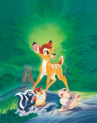 Bambi movie poster (1942) poster MOV_d94ee632