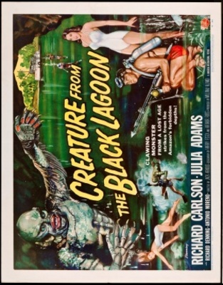 Creature from the Black Lagoon movie poster (1954) poster MOV_d95bf6ff