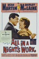 All in a Night's Work movie poster (1961) picture MOV_d964613f