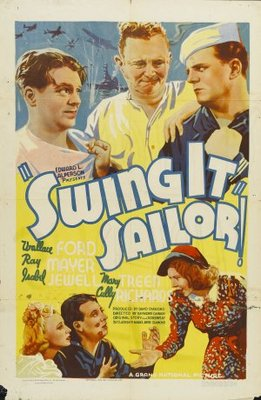 Swing It, Sailor! movie poster (1938) poster MOV_d9689552