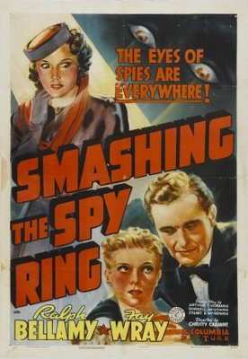 Smashing the Spy Ring movie poster (1939) poster MOV_d97d449a